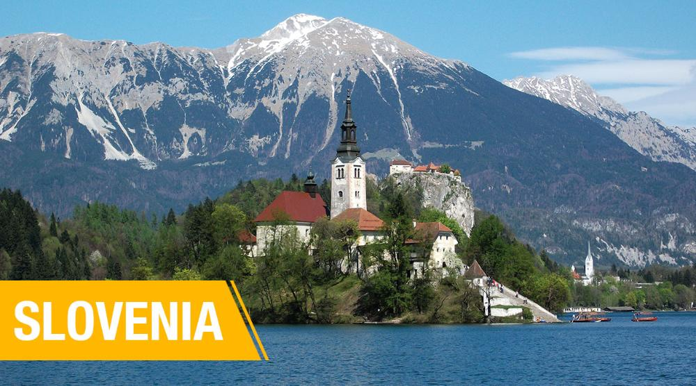 International Student Teaching - Bled with lake island castle